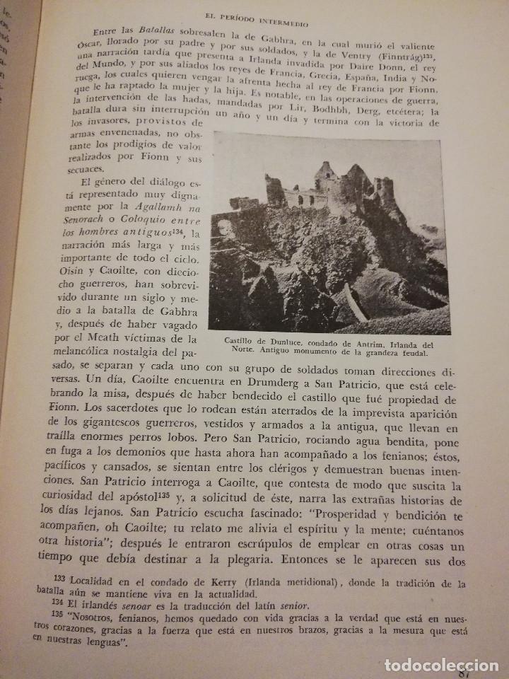Libros de segunda mano: HISTORIA UNIVERSAL LITERATURA. TOMO IV (PRAMPOLINI) LITERATURAS CÉLTICAS, GERMÁNICAS, ROMÁNICAS... - Foto 9 - 217617678