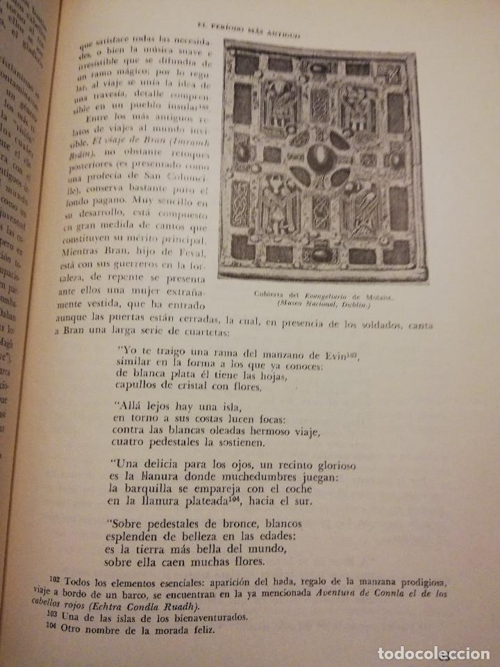 Libros de segunda mano: HISTORIA UNIVERSAL LITERATURA. TOMO IV (PRAMPOLINI) LITERATURAS CÉLTICAS, GERMÁNICAS, ROMÁNICAS... - Foto 10 - 217617678