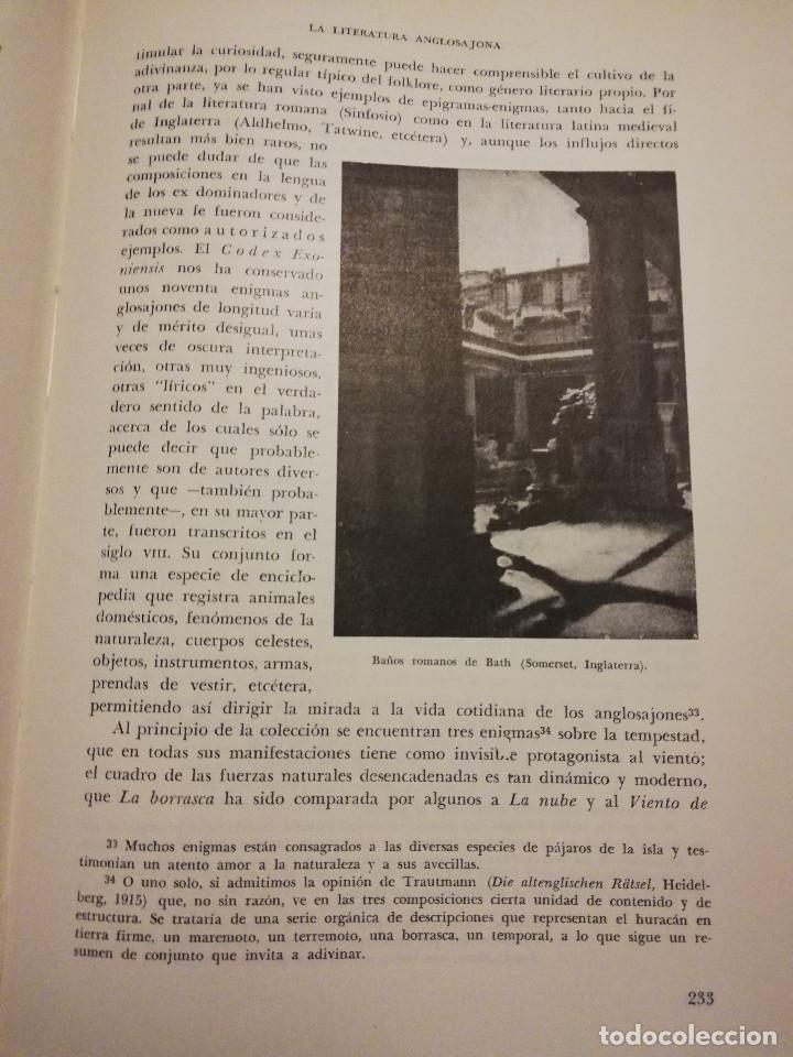 Libros de segunda mano: HISTORIA UNIVERSAL LITERATURA. TOMO IV (PRAMPOLINI) LITERATURAS CÉLTICAS, GERMÁNICAS, ROMÁNICAS... - Foto 13 - 217617678