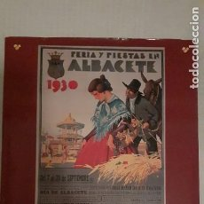 Libros de segunda mano: CARTELES DE NUESTRA FERIA ALBACETE (BONITO LIBRO). Lote 254687390