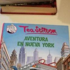 Libri di seconda mano: G-39 LIBRO TEA STILTON AVENTURA EN NUEVA YORK. Lote 217654611
