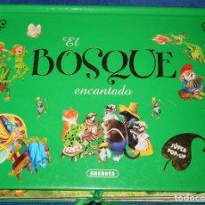 Libros de segunda mano: EL BOSQUE ENCANTADO - LIBRO POP-UP - SUSAETA (2010). Lote 217656892