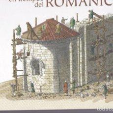 Libros de segunda mano: UNA ALDEA EN TIEMPOS DEL ROMANICO, PREMIO LIBRO INFANTIL MEJOR EDITADO 2010. Lote 217682848