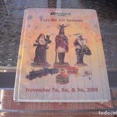 Libri di seconda mano: BERTOIA, CATALOGO JUGUETE ANTIGUO 2008, RESULTADO DE PRECIOS, TAPAS DURAS. Lote 217718118