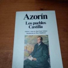 Livros em segunda mão: LOS PUEBLOS CASTILLA. AZORÍN. PLANETA EST10B3. Lote 217740557
