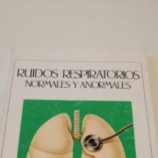 Livros em segunda mão: G-40 LIBRO RUIDOS RESPIRATORIOS NORMALES Y ANORMALES. Lote 217753337