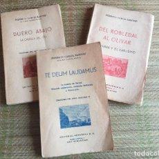 Libros de segunda mano: ¡¡OCASION!! LOTE 3 LIBROS DE FEDERICO GARCIA SANCHIZ - EDITORIAL ESPAÑOLA. Lote 217777445