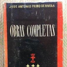 Libros de segunda mano: OBRAS COMPLETAS DE JOSE ANTONIO PRIMO DE RIVERA. Lote 217779352