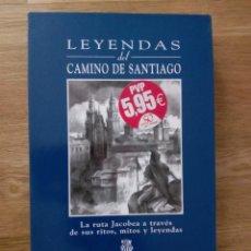 Libros de segunda mano: LEYENDAS DEL CAMINO DE SANTIAGO / JUAN G ATIENZA. Lote 217868265