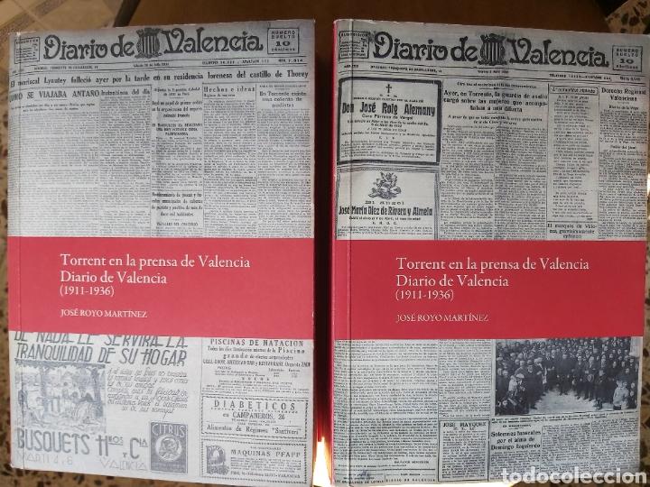 Libros de segunda mano: TORRENT EN LA PRENSA DE VALENCIA. 3 TOMOS. DIARIO DE VAL. TOMO I y II. LA VOZ DE VAL.1 TOMO. Ed 2006 - Foto 3 - 217884298