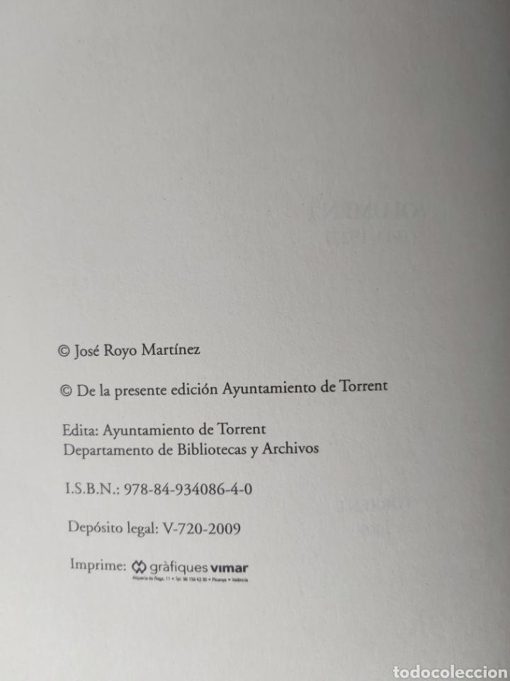 Libros de segunda mano: TORRENT EN LA PRENSA DE VALENCIA. 3 TOMOS. DIARIO DE VAL. TOMO I y II. LA VOZ DE VAL.1 TOMO. Ed 2006 - Foto 6 - 217884298