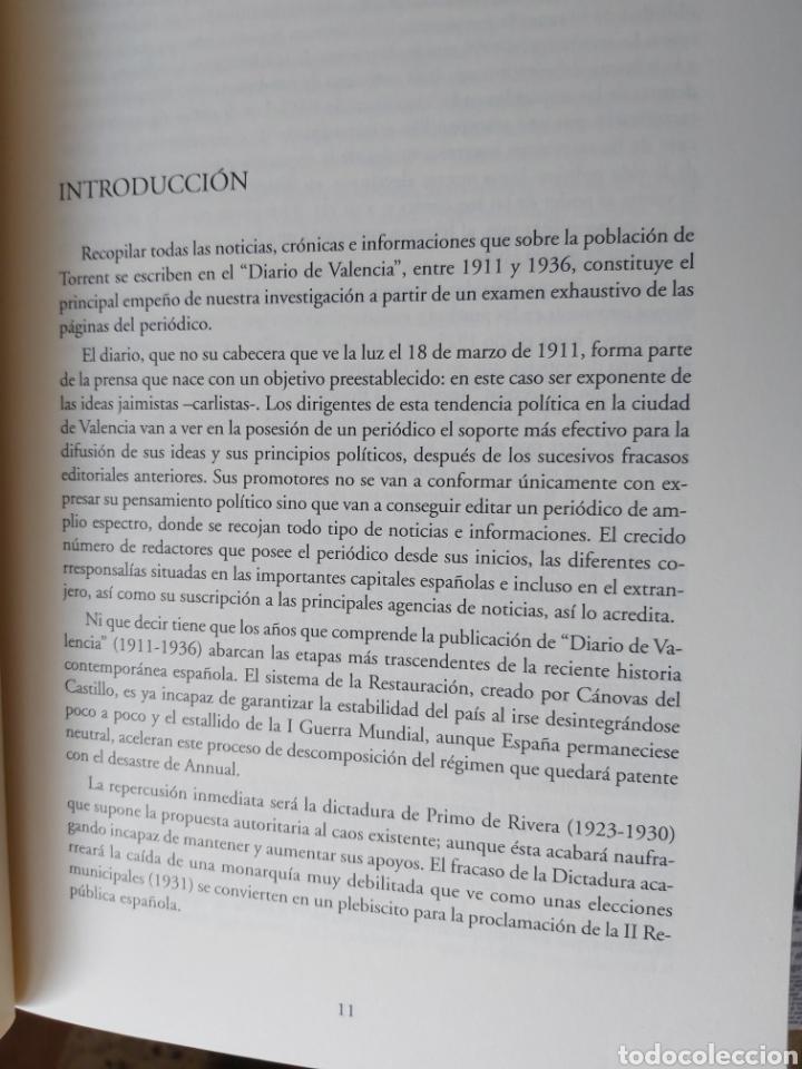 Libros de segunda mano: TORRENT EN LA PRENSA DE VALENCIA. 3 TOMOS. DIARIO DE VAL. TOMO I y II. LA VOZ DE VAL.1 TOMO. Ed 2006 - Foto 8 - 217884298