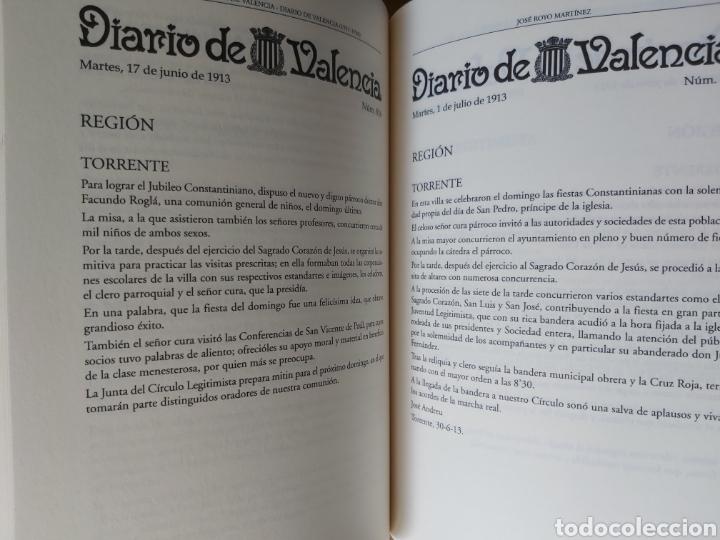 Libros de segunda mano: TORRENT EN LA PRENSA DE VALENCIA. 3 TOMOS. DIARIO DE VAL. TOMO I y II. LA VOZ DE VAL.1 TOMO. Ed 2006 - Foto 9 - 217884298