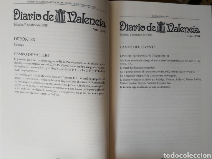 Libros de segunda mano: TORRENT EN LA PRENSA DE VALENCIA. 3 TOMOS. DIARIO DE VAL. TOMO I y II. LA VOZ DE VAL.1 TOMO. Ed 2006 - Foto 12 - 217884298
