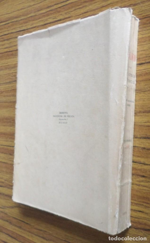 Libros de segunda mano: Catalogo de la biblioteca provincial Sección vascongada autores - Tomo segundo A - D 1 954 - Foto 3 - 217962506