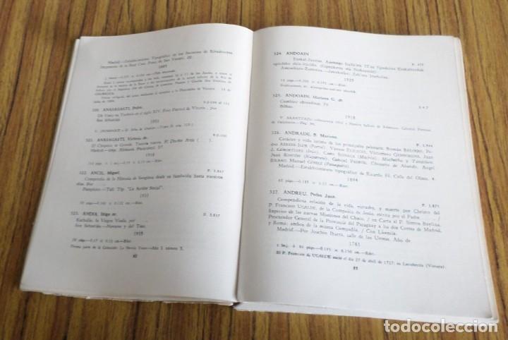 Libros de segunda mano: Catalogo de la biblioteca provincial Sección vascongada autores - Tomo segundo A - D 1 954 - Foto 4 - 217962506