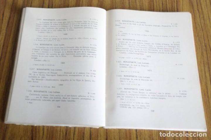 Libros de segunda mano: Catalogo de la biblioteca provincial Sección vascongada autores - Tomo segundo A - D 1 954 - Foto 5 - 217962506