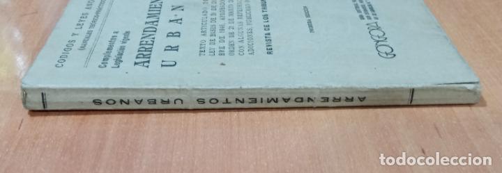 Libros de segunda mano: ARRENDAMIENTOS URBANOS REVISTA DE LOS TRIBUNALES. EDICIONES GÓNGORA. 1º EDICIÓN - Foto 3 - 218013982