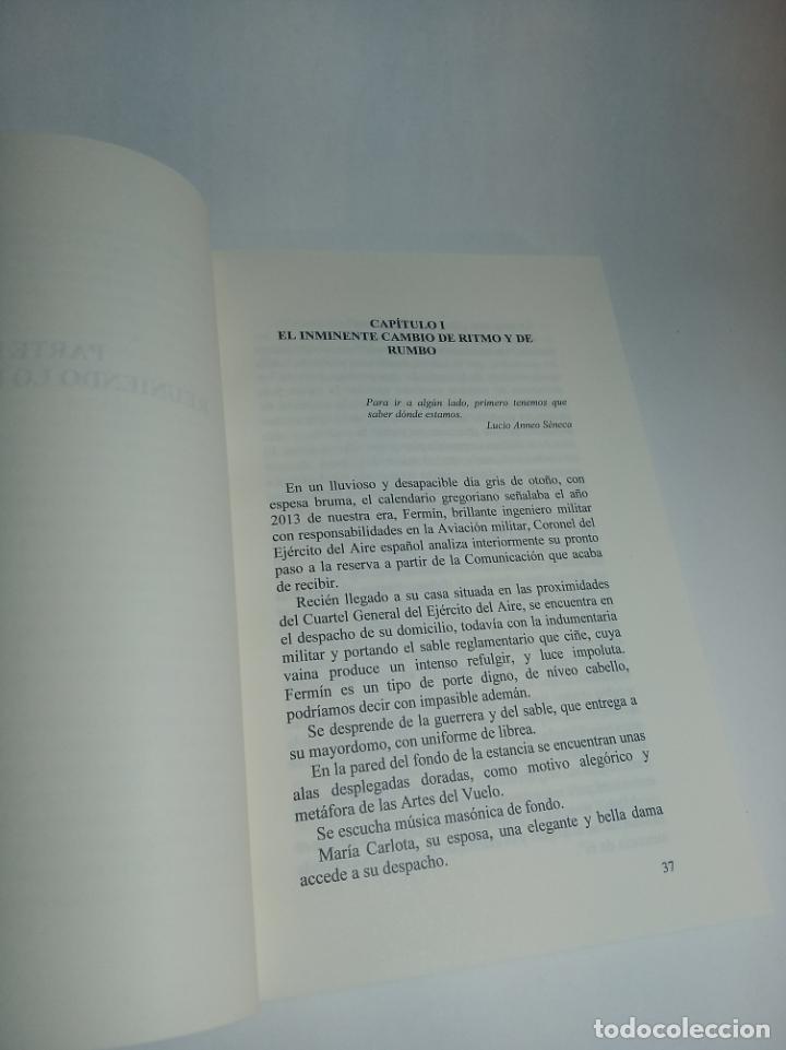 Libros de segunda mano: El vuelo mágico del iniciado. Faustino Merchán Gabaldón. Firmado y dedicado. Nostrum. 2014. - Foto 3 - 218096290