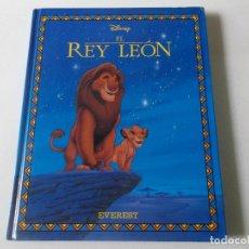 Libros de segunda mano: EL REY LEON,, DISNEY, 1994, EDITORIAL EVEREST, TAPA DURA,. Lote 218192437