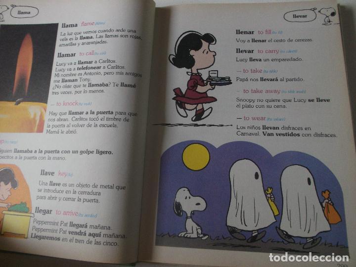 Libros de segunda mano: GRAN DICCIONARIO DE CARLITOS (CHARLIE BROWN) LL-Z / ED. JUNIOR - GRIJALBO 1989 - Foto 3 - 218192957