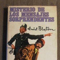 Libros de segunda mano: MISTERIO DE LOS MENSAJES SORPRENDENTES. ENID BLYTON 1962. Lote 218220751