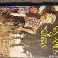 Libros de segunda mano: SEIS PRIMOS SE SEPARAN. ENID BLYTON. 1968. Lote 218221317