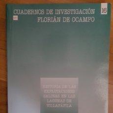 Libros de segunda mano: HISTORIA DE LAS EXPLOTACIONES SALINAS EN LAS LAGUNAS DE VILLAFAFILA. ELIAS RGUEZ RGUEZ. Lote 218252793