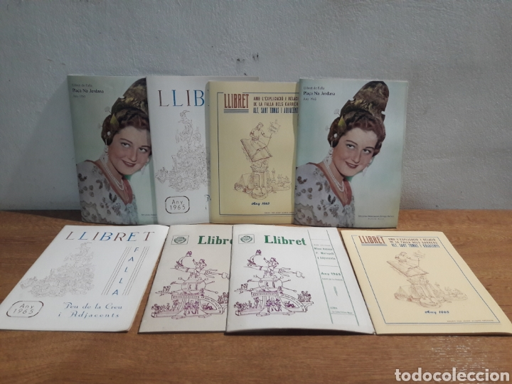 LLIBRETS DE FALLES AÑO 1965 (Libros de Segunda Mano - Historia - Otros)