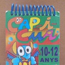 Libros de segunda mano: LLIBRE CAP I CUA CLUB SUPER 3 JOC DE PREGUNTES I RESPOSTES MATES SOCIALS CATALA 1984. Lote 218280580