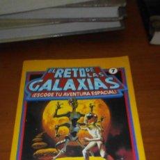 Libros de segunda mano: EL RETO DE LAS GALAXIAS 7 ESCOGE TU AVENTURA ESPACIAL. Lote 218338366