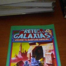 Libros de segunda mano: EL RETO DE LAS GALAXIAS 8 ESCOGE TU AVENTURA ESPACIAL. Lote 218338580