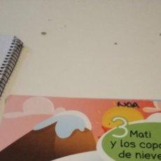 Libros de segunda mano: C-4 LIBRO 3 MATI Y LOS COPOS DE NIEVE. Lote 218340613