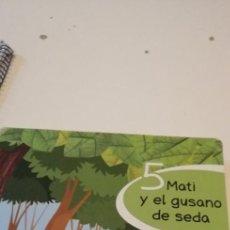 Libros de segunda mano: C-4 LIBRO 5 MATI Y EL GUSANO DE SEDA. Lote 218340677