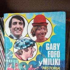 Libros de segunda mano: GABI, FOFÓ Y MILIKI. HISTORIA DE UNA FAMILIA DE CIRCO - PLAZA & JANES 1974. Lote 218344281