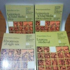 Libros de segunda mano: LECTURA CRÍTICA DE LA LITERATURA ESPAÑOLA , COMPLETA 25 TOMOS, VER FOTOS Y DESCRIPCIÓN. Lote 218347301