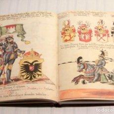 Libros de segunda mano: FACSÍMIL ÍNTEGRO DEL GRAN LIBRO DE LOS TORNEOS (S. XV). Lote 240726910