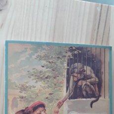 Libros de segunda mano: UN DÍA EN EL ZOO. REPRODUCCIÓN DE UN ANTIGUO LIBRO DESPLEGABLE. Lote 218512308