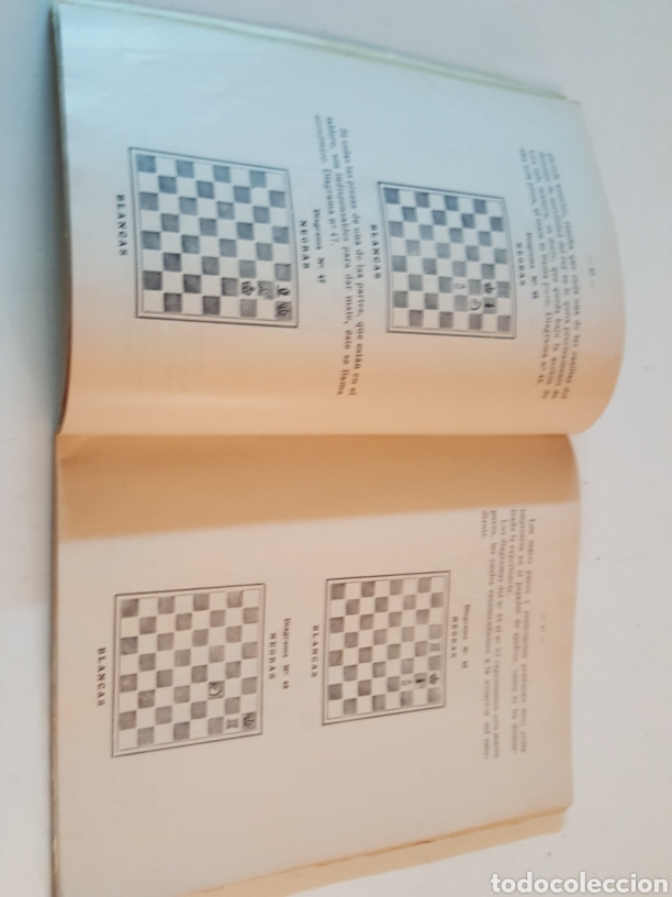 Libros de segunda mano: Curso Ajedrez Enmanuel Lasker Mexico Alfaro Hermanos 1974 de 132 páginas - Foto 3 - 218541315
