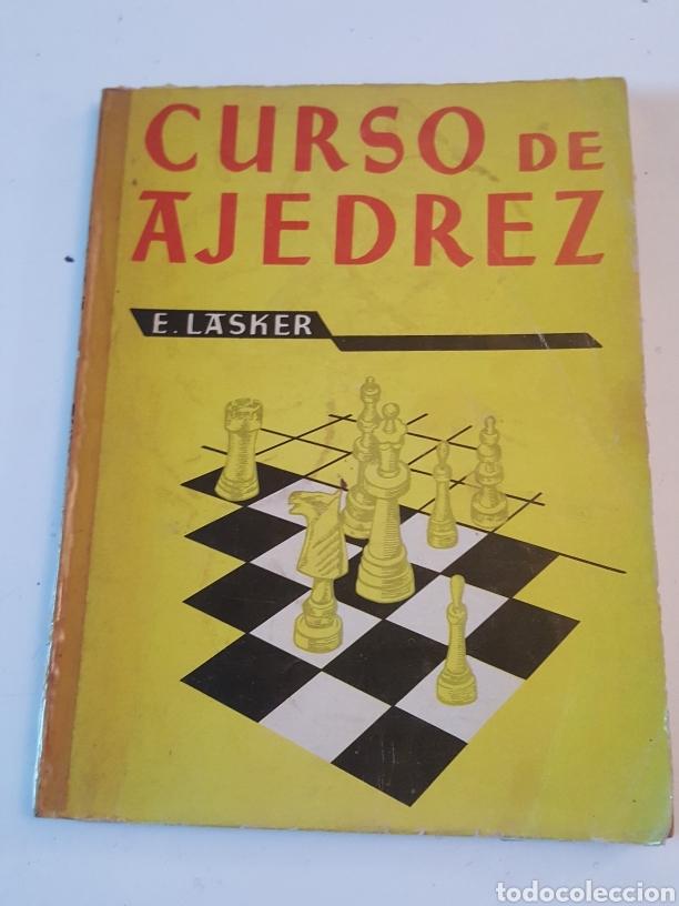 CURSO AJEDREZ ENMANUEL LASKER MEXICO ALFARO HERMANOS 1974 DE 132 PÁGINAS (Libros de Segunda Mano - Bellas artes, ocio y coleccionismo - Otros)