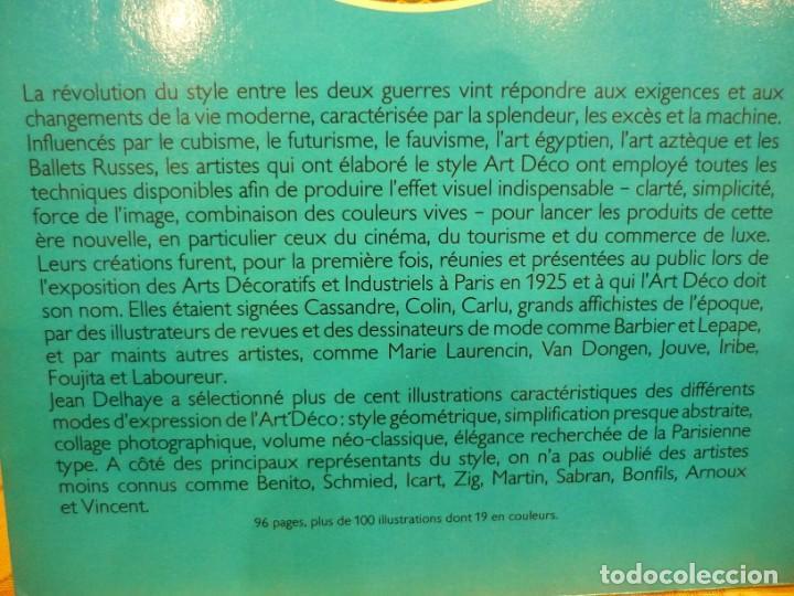 Libros de segunda mano: AFFICHES ET GRAVURES ART DECO, DE JEAN DELHAYE. EDITORIAL FLAMMARION 1.977. MUY ILUSTRADO. - Foto 3 - 218545628