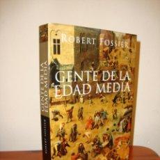 Libros de segunda mano: GENTE DE LA EDAD MEDIA - ROBERT FOSSIER - TAURUS, MUY BUEN ESTADO. Lote 218596936
