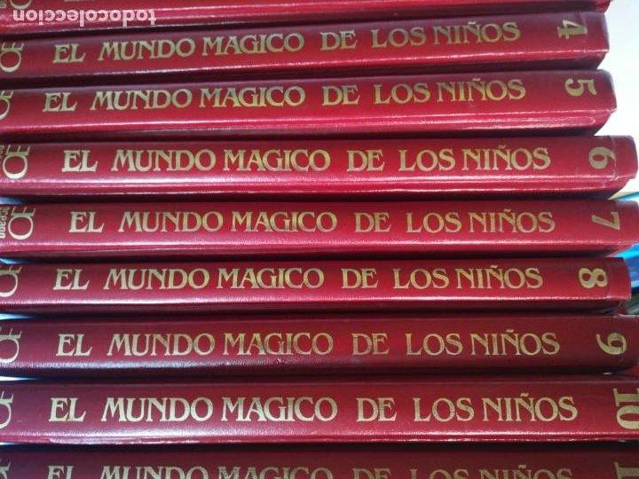 Libros de segunda mano: VV.AA El mundo mágico de los niños. 12 Tomos S810T - Foto 6 - 218667682