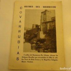 Libros de segunda mano: COVARRUBIAS,HISTORIA, ARTE, MONUMENTOS. Lote 218690775
