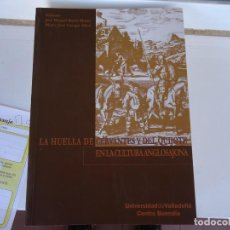 Libros de segunda mano: LA HUELLA DE CERVANTES Y DEL QUIJOTE EN LA CULTURA ANGLOSAJONA. Lote 218692555