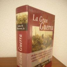 Libros de segunda mano: JOHN H. MORROW, JR.: LA GRAN GUERRA (EDHASA) TAPA DURA. PRECINTADO. COMO NUEVO.. Lote 218718911