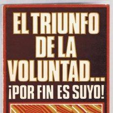 Libros de segunda mano: EL TRIUNFO DE LA VOLUNTAD...¡POR FIN ES SUYO! M.R.KOPMEYER. Lote 218737856