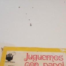 Libros de segunda mano: C-5 LIBRO JUGUEMOS CON PAPEL CEAC. Lote 218745100