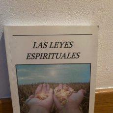 Libros de segunda mano: LAS LEYES ESPIRITUALES VICENT GUILLEM. Lote 218746146