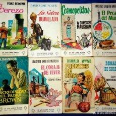 Libros de segunda mano: LOTE 16 LIBRO PLAZA EDICIONES GP AÑOS 50 Y 60. Lote 218841535
